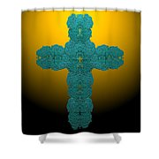 Frisbee Salt Cross 7 Shower Curtain