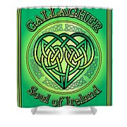 Gallagher Soul Of Ireland Shower Curtain