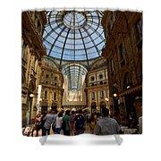 Galleria Vittorio Emanuele. Milano Milan Shower Curtain