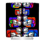Game  Shower Curtain