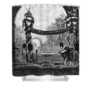 Garfield Funeral, 1881 Shower Curtain