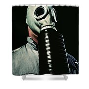 Gas And Darkness Shower Curtain