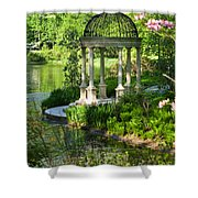 Gazebo By Lake Shower Curtain