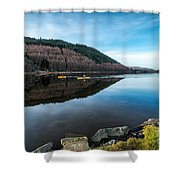 Geirionydd Lake  Shower Curtain