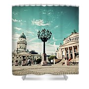 Gendarmenmarkt In Berlin Germany Shower Curtain
