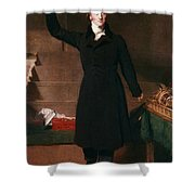 George Canning (1770-1827) Shower Curtain