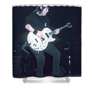 Musician George Thorogood Shower Curtain