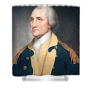 George Washington By Rembrandt Peale Shower Curtain