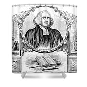 George Whitefield (1714-1770) Shower Curtain