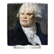 Georges-jacques Danton (1759-1794) Shower Curtain