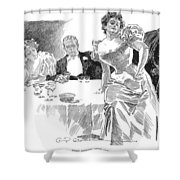 Gibson: Dinner Party Shower Curtain