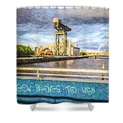 Glasgow Belongs To Us Shower Curtain