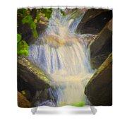 Glen Iris Waterfall Shower Curtain