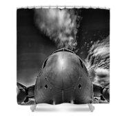 Globemaster Shower Curtain