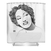 Gloria Swanson Shower Curtain