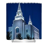 Glowing Cathedral Shower Curtain