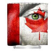 Go Canada Shower Curtain