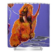 Go Red Go Shower Curtain