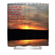 God Only Son Shower Curtain