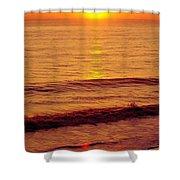 Golden - Sunrise Shower Curtain