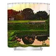 Golf Course Beauty Shower Curtain