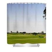 Golf Fairway Shower Curtain