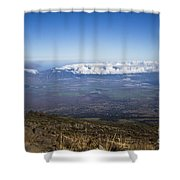 Good Morning Maui Shower Curtain