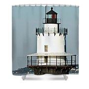 Goose Rocks Lighthouse Shower Curtain