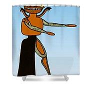 Gorgon, Legendary Creature Shower Curtain