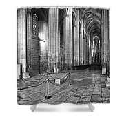 Gothic Church Shower Curtain