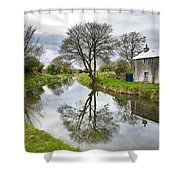 Grand Canal At Miltown Shower Curtain