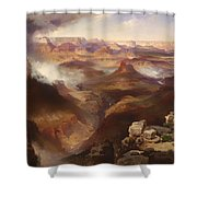Grand Canyon Of The Colorado River Shower Curtain