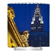 Grand Central Shower Curtain