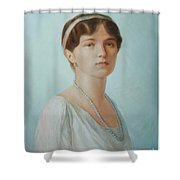 Grand Duchess Olga Nikolaevna Of Russia Shower Curtain