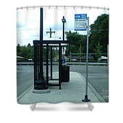 Grand/nordica Cta Bus Terminal Shower Curtain