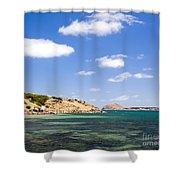 Granite Island South Australia Shower Curtain