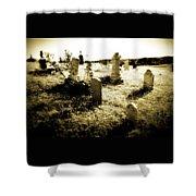 Graveyard 4724 Shower Curtain