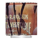 Great American Food Truck Shower Curtain