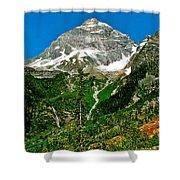 Great Glacier Trail In Glacier Np-british Columbia Shower Curtain