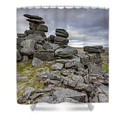 Great Staple Tor Shower Curtain