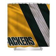 Green Bay Packers Uniform Shower Curtain