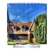 Greensted Church Ongar Shower Curtain