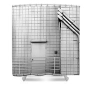 Gridlock Shower Curtain