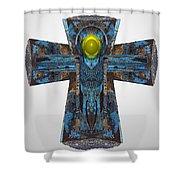 Grit Brim 8 Shower Curtain