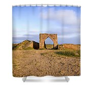Grosnez Castle - Jersey Shower Curtain