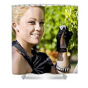 Growing Personal Wealth Shower Curtain