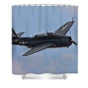 Grumman Tbm-3e Avenger Shower Curtain
