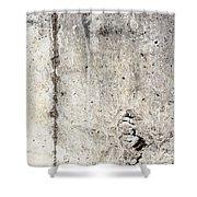 Grunge Concrete Texture Shower Curtain