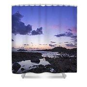 Guernsey Sunset Shower Curtain