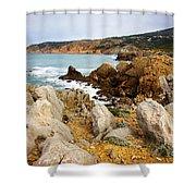 Guincho Cliffs Shower Curtain
